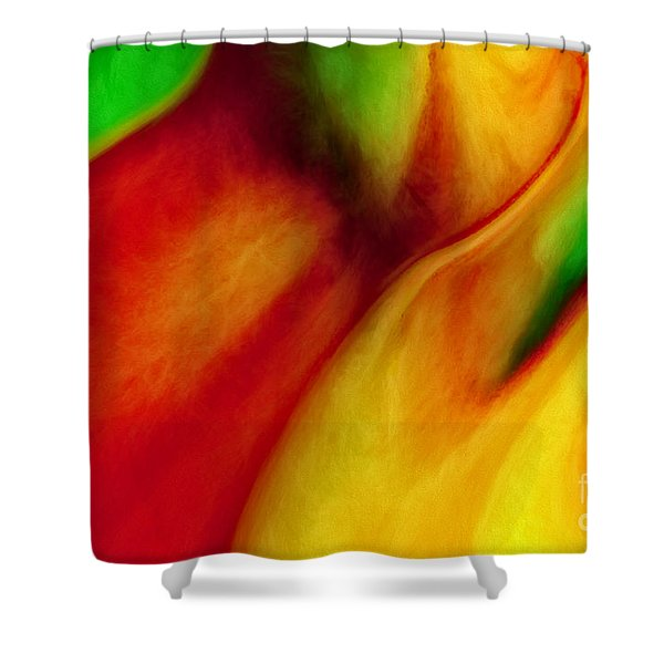 Where Time Stands Still Shower Curtain