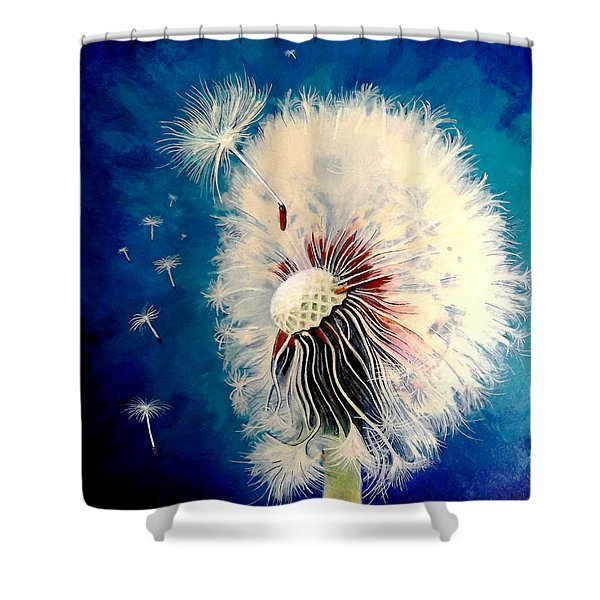 Wherever The Wind Takes Me Shower Curtain