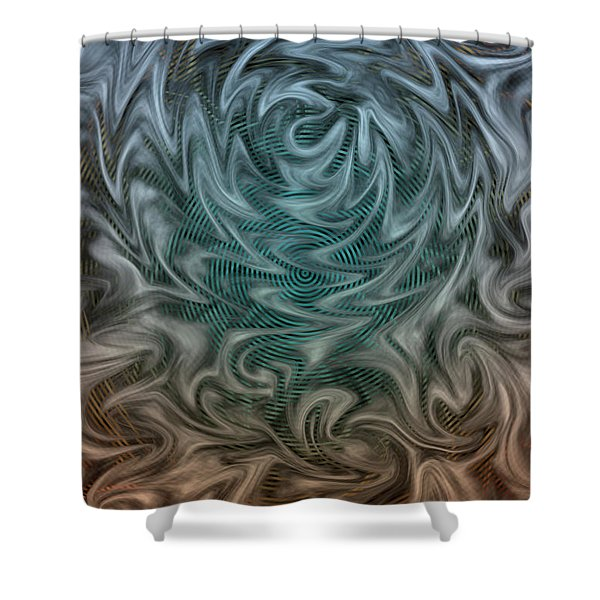 Wherever You Go, There You Are Shower Curtain