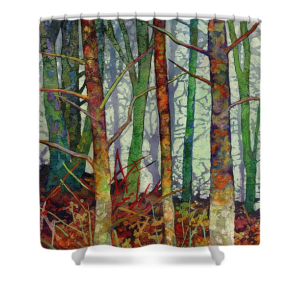 Whispering Forest Shower Curtain