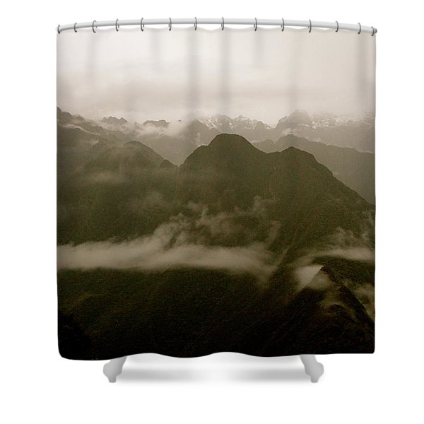 Whispers In The Andes Mountains Shower Curtain