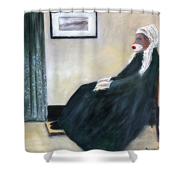 Whistlin Mother Shower Curtain
