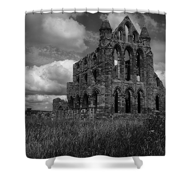 Whitby Abbey, North York Moors Shower Curtain