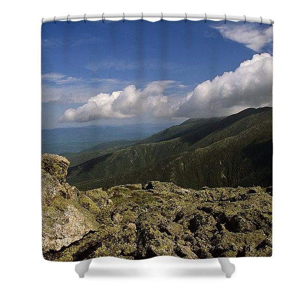 Shower Curtain featuring the photograph White Mountain National Forest - New Hampshire Usa by Erin Paul Donovan