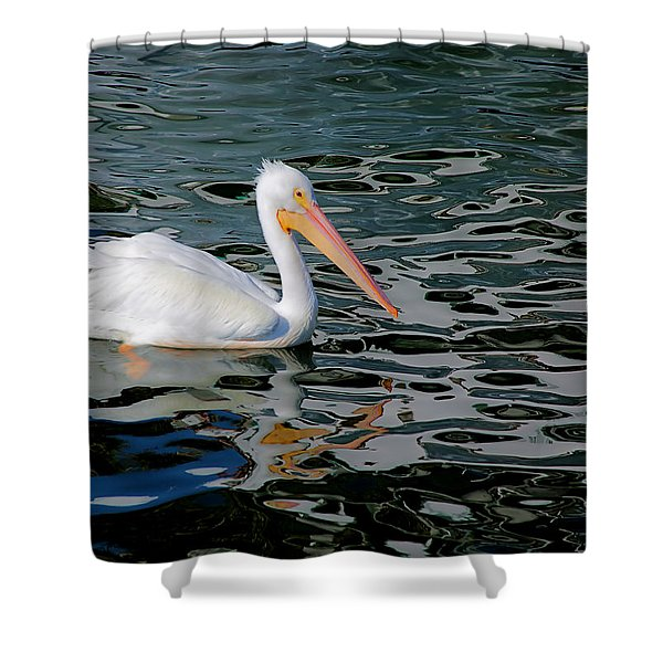 White Pelican, Too Shower Curtain