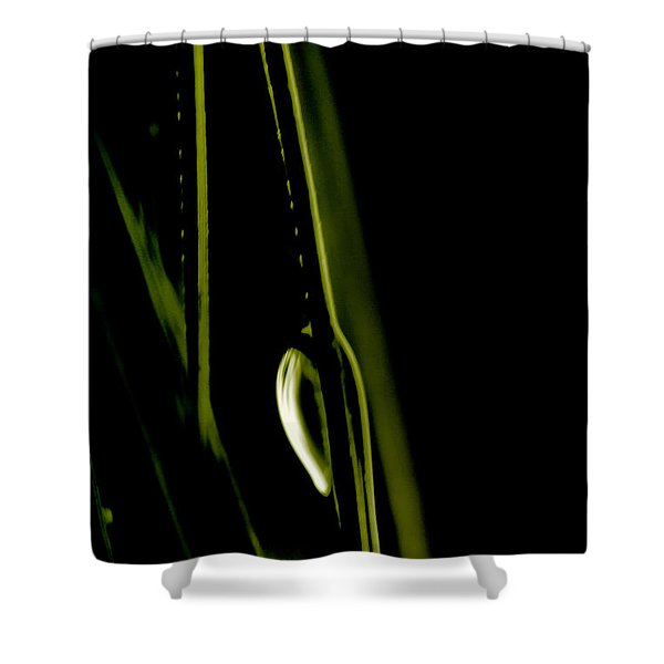 White Pine Dew Shower Curtain