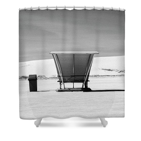 White Sands National Monument #10 Shower Curtain