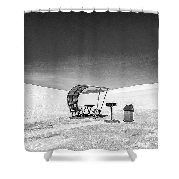 White Sands National Monument #8 Shower Curtain