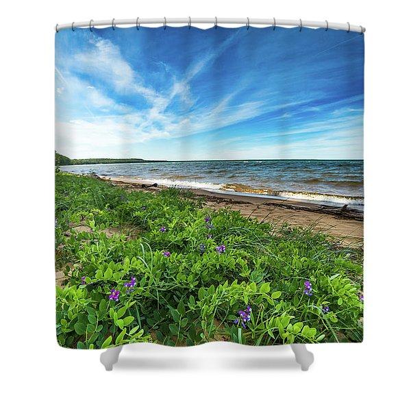 Whitefish Bay Roxbury Creek -2085 Shower Curtain