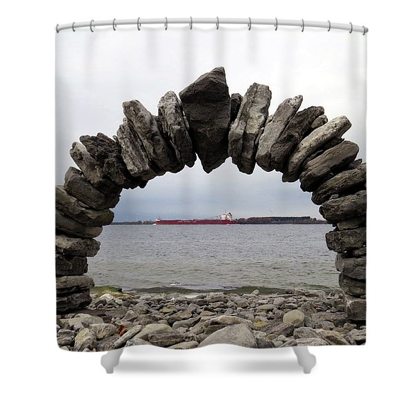 Whitefish Bay Under The Arch Shower Curtain
