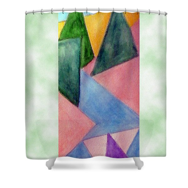 Whitewater Raft Shower Curtain