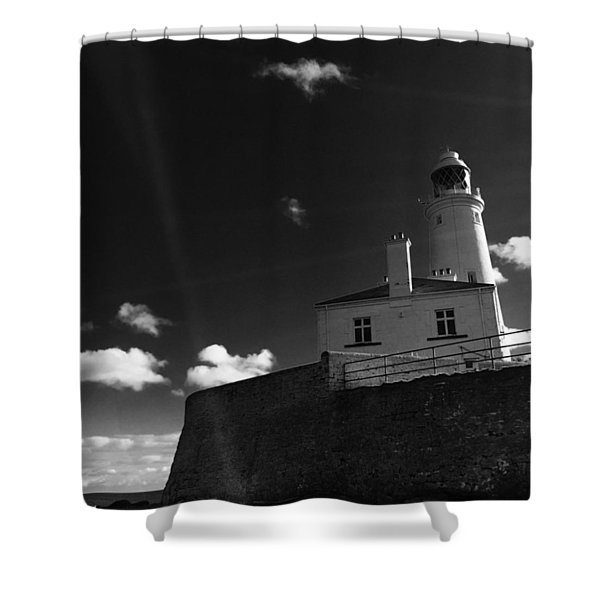 St.mary's Lighthouse - Whitley Bay Shower Curtain