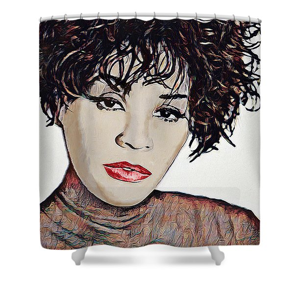 Whitney Shower Curtain