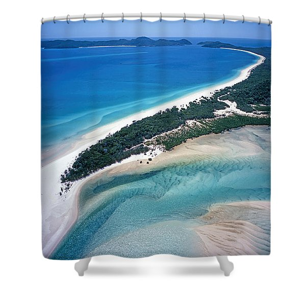 Shower Curtain featuring the photograph Whitsunday Islands by Juergen Held