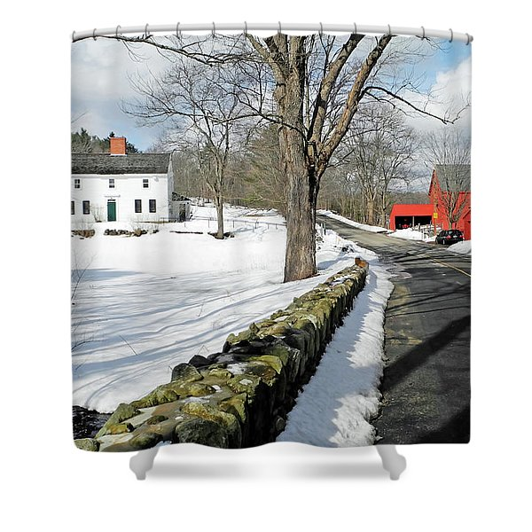 Whittier Birthplace Shower Curtain