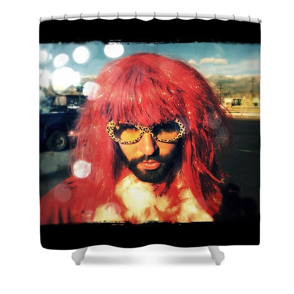 Who Am I? Shower Curtain