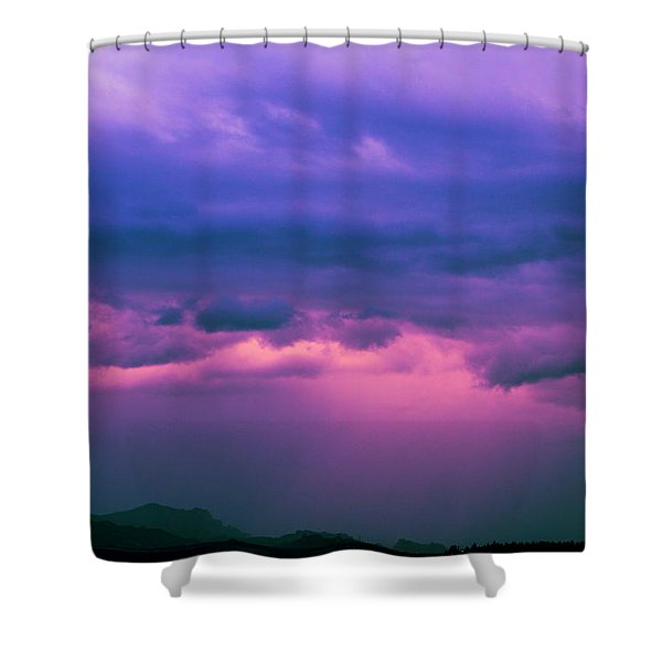 Who'll Stop The Rain Shower Curtain