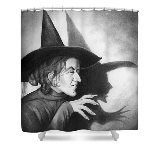 Wicked Witch Of The West Shower Curtain