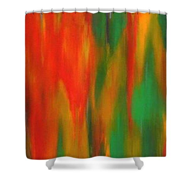Wide Awake Shower Curtain
