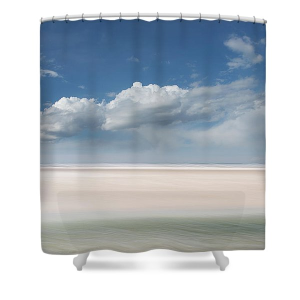 Wide Open Shower Curtain