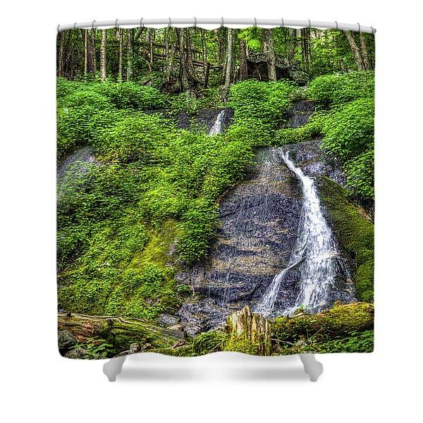 Wigwam Falls Shower Curtain