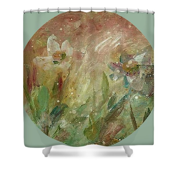 Wil O' The Wisp Shower Curtain
