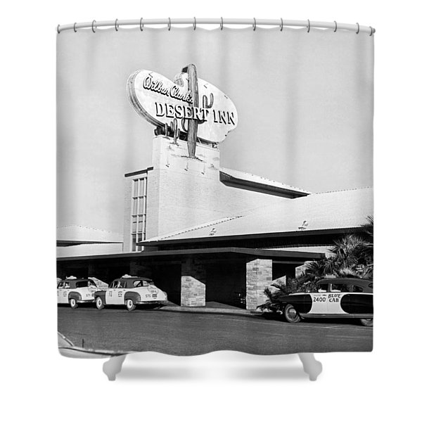 Wilbur Clark's Desert Inn Shower Curtain