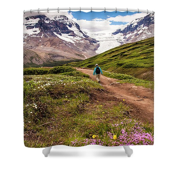 Wilcox Pass Shower Curtain