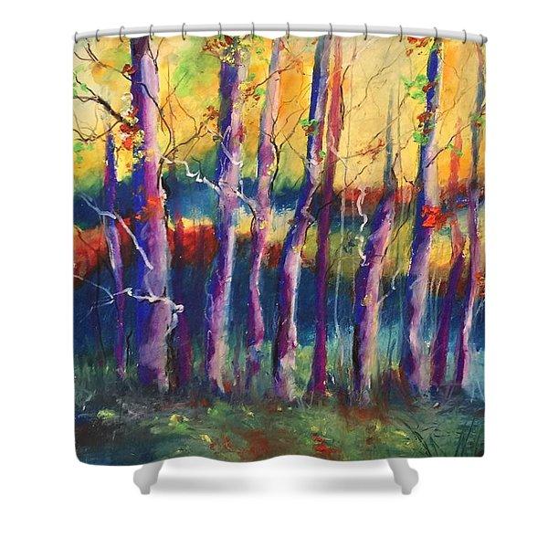 Wild Beasts On Da Bayou Shower Curtain