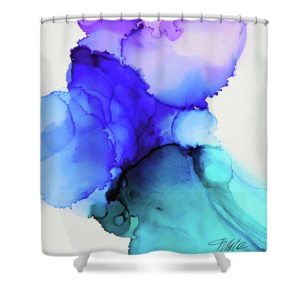 Wild Blue Yonder Shower Curtain