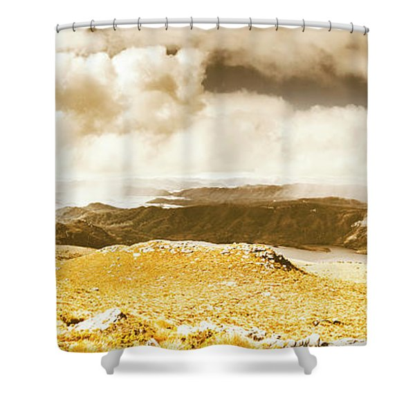 Wild Country Lookout Shower Curtain