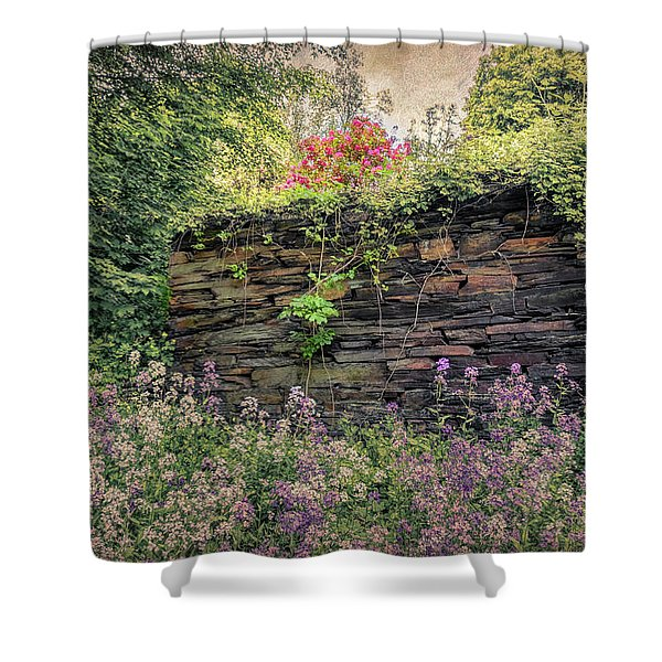 Wild Flocks Shower Curtain