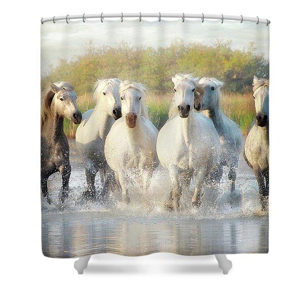 Wild Friends Shower Curtain