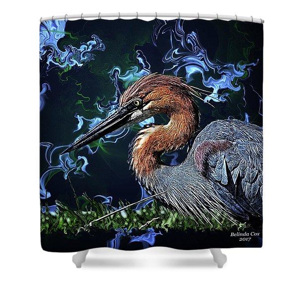 Wild Goliath Herona Shower Curtain