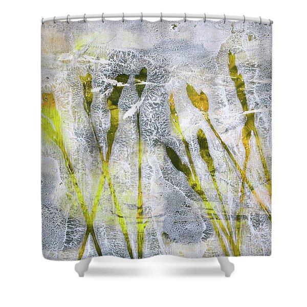 Wild Grass 3 Shower Curtain