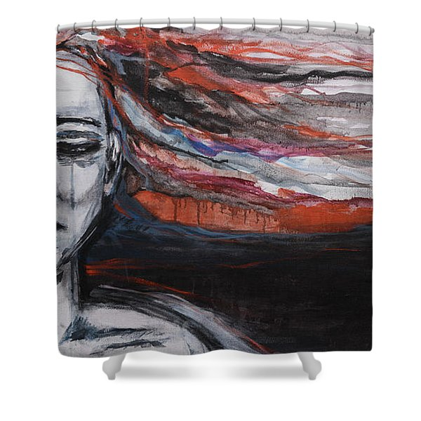 Wild Is The Wind Shower Curtain