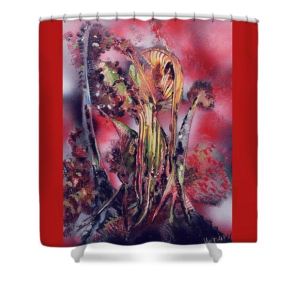 Wild-land Fire Shower Curtain