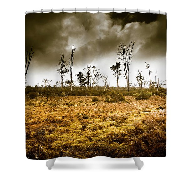 Wild Moors  Shower Curtain