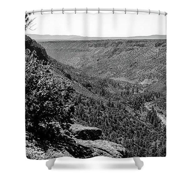 Wild Rivers Shower Curtain