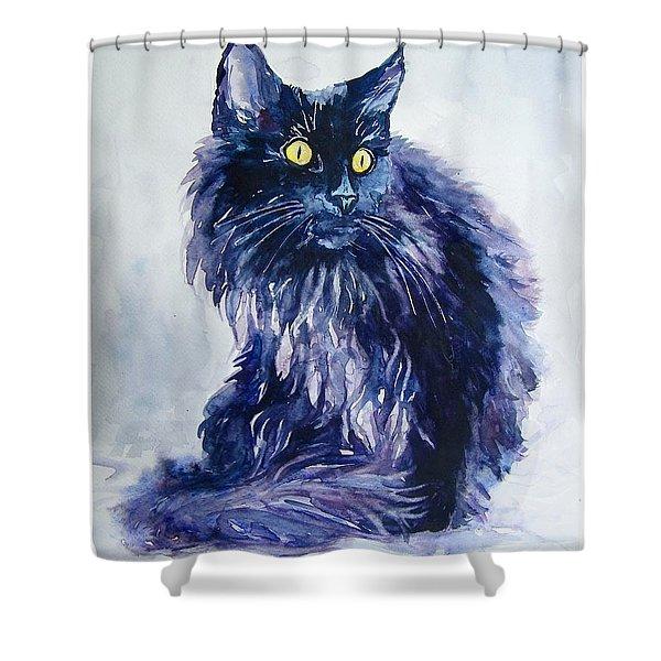 Wild Vagabond Shower Curtain