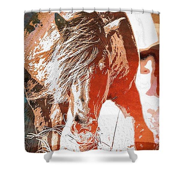 Wild-wc Shower Curtain