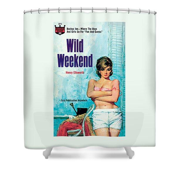 Wild Weekend Shower Curtain