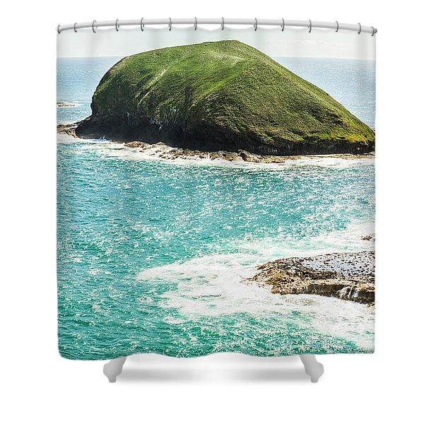 Wild Western Waters Shower Curtain
