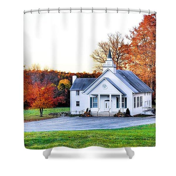 Wilderness Church Shower Curtain