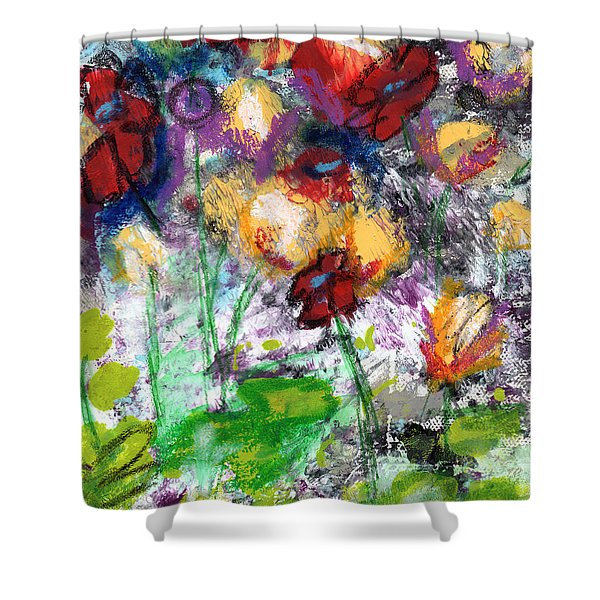 Wildest Flowers- Art By Linda Woods Shower Curtain