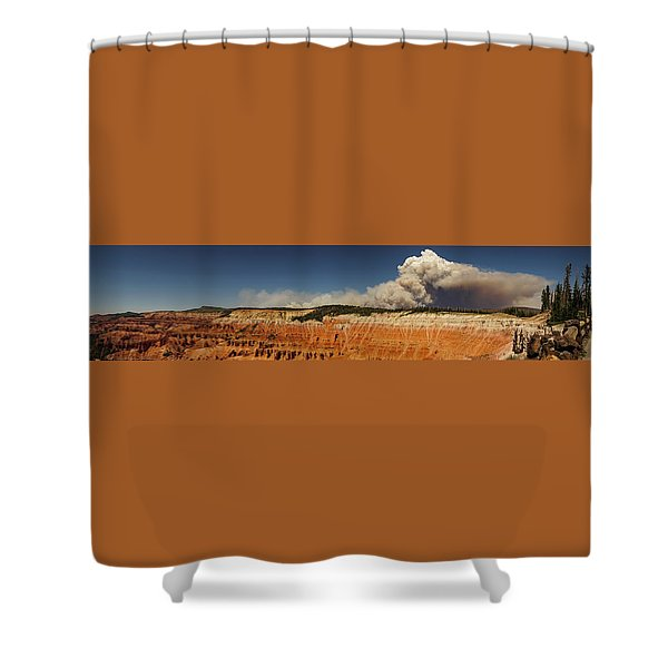 Wildfire Cedar Breaks National Monument Utah Shower Curtain