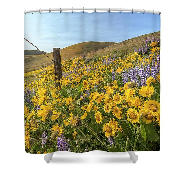 Wildflower Bonanza Shower Curtain