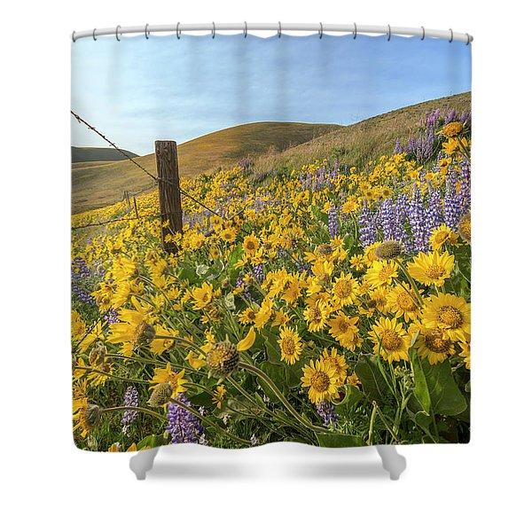 Wildflower Bonanza Shower Curtain
