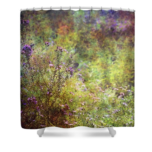 Wildflower Garden Impression 4464 Idp_2 Shower Curtain