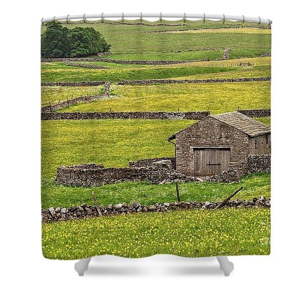 Wildflower Meadows Shower Curtain